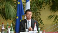 Le Premier ministre Manuel Valls à Boulogne-Sur-Mer, le 22 octobre 2015 [PHILIPPE HUGUEN / AFP]