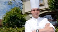 Benoît Violier, chef du Restaurant de l'Hôtel de Ville à Crissier près de Lausanne, le 15 mai 2012 [©MARCEL GILLIERON / AFP/Archives]