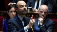 Edouard Philippe à l'Assemblée nationale, le 17 janvier 2018 [STEPHANE DE SAKUTIN / AFP]