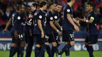 Le PSG large vainqueur de Toulouse, avec un doublé de Zlatan Ibrahimovic au Parc des Princes, le 7 novembre 2015 [FRANCK FIFE / AFP]
