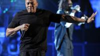 Le rappeur Dr Dre sur scène le 15 avril 2012 lors du Coachella festival à Indio en Californie [Christopher Polk / Getty Images/AFP/Archives]