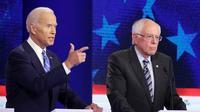 Joe Biden et Bernie Sanders font partie des favoris de la primaire démocrate, en compagnie d'Elizabeth Warren.
