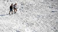 Cette vague de chaleur fait suite à plusieurs mois historiquement chauds en Alaska.