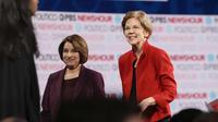 Les deux femmes ont dominé leurs opposants masculin pour le soutien du quotidien.