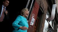 Hillary Clinton à Philadelphie, deux jours avant l'élection.
