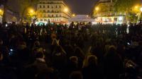 Une réunion du mouvement Nuit Debout, place de la République à Paris, le 2 mai 2016 [Geoffroy Van der Hasselt / AFP/Archives]