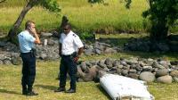 Un élément de l'avion MH370 retrouvé à La Réunion le 29 juillet 2015 [Yannick PITOU / AFP/Archives]