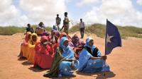 Un groupe de femmes le 30 avril 2014 à Marka, en Somalie [Tobin Jones / AU-UN IST/AFP/Archives]