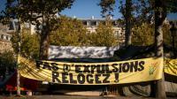 Manifestation contre les expulsions le 1er novembre 205 à Paris  [LIONEL BONAVENTURE / AFP/Archives]