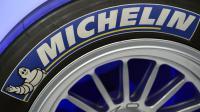 Le logo de Michelin sur un pneu [Franck Fife / AFP/Archives]