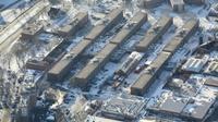 La prison new-yorkaise de Rikers Island, photographiée le 5 janvier 2018  [JOHN MOORE / GETTY IMAGES NORTH AMERICA/AFP]