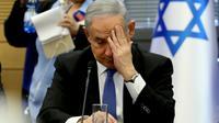 Le Premier ministre israélien Benjamin Netanyahu lors d'une séance à la Knesset, le 20 novembre 2019 à Jérusalem [GALI TIBBON / AFP]