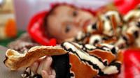 Un enfant yéménite souffrant de malnutrition, dans un hôpital de Sanaa, le 22 novembre 2017 [ / AFP]