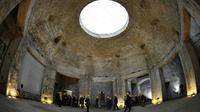 Visite virtuelle de l'antique demeure de Néron à Rome, me 22 mars 2017 [ANDREAS SOLARO / AFP]