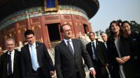 François Hollande lors d'une visite au Temple of Heaven le 3 novembre 2015 à Pékin  [STEPHANE DE SAKUTIN / POOL/AFP]