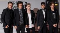 (de g à d) Liam Payne, Harry Styles, Niall Horan, Zayn Malik et Louis Tomlinson du boys band britannique One Direction, le 19 février 2014 à Londres [Andrew Cowie / AFP/Archives]