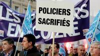 Policiers en colère