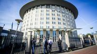 Le siège de l'Organisation pour l'interdiction des armes chimiques (OIAC)  à La Haye le 18 avril 2018 [Evert-Jan Daniels / ANP/AFP]