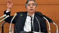 Le gouverneur de la Banque du Japon, Haruhiko Kuroda, le 7 octobre 2015 à Tokyo [Yoshikazu Tsuno / AFP/Archives]
