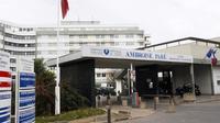L'entré de l'hôpital Ambroise-Paré de Boulogne-Billancourt  [Jean-Pierre Muller / AFP/Archives]
