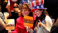Des militants républicains à Boston le 6 novembre 2012 [Joe Raedle / Getty Images/AFP]