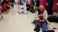 Dans un grand magasin ouvert la nuit de Thanksgiving, dans l'Indiana aux Etats-Unis, le 22 novembre 2012 [Tasos Katopodis / AFP/Getty Images]