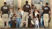 Des migrants après leur arrestation à la frontière sud des Etats-Unis en juin 2019 [MARIO TAMA / GETTY IMAGES NORTH AMERICA/AFP/Archives]