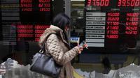 Les Argentins ont les nerfs à vif après une semaine de dépréciation vertigineuse du peso [EITAN ABRAMOVICH / AFP]
