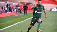 L'attaquant de Saint-Etienne Rémy Cabella buteur lors de la victoire 3-2 à Monaco en L1 le 5 mai 2019 [YANN COATSALIOU / AFP]