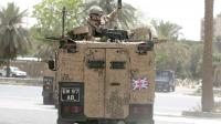 Un véhicule de l'armée britannique à Bagdad, en Irak,  en mai 2009 [Ahmad al-Rubaye / AFP/Archives]