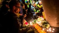 Hommage aux victimes des attentats de Bruxelles, le 23 mars 2016 à Zaventem en Belgique [PHILIPPE HUGUEN / AFP]