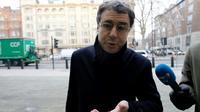 L'homme d'affaires Alexandre Djouhri à son arrivée à un tribunal britannique, le 21 janvier 2019 à Londres [Tolga AKMEN / AFP/Archives]