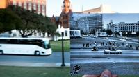 Donald Trump a autorisé la publication de milliers de nouveaux documents sur l'assassinat de John F. Kennedy en 1963 sur cette place à Dallas, photographiée en novembre 2013  [BRENDAN SMIALOWSKI / AFP/Archives]