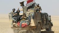 Des forces gouvernementales irakiennes se déploient le 18 octobre 2016 Bajwaniyah à 30 km de Mossoul [AHMAD AL-RUBAYE / AFP]