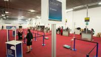 Comptoir d'enregistrement de la compagnie Brussels Airlines, le 3 avril 2016 à Zaventem [BENOIT DOPPAGNE / Belga/AFP]