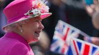 La reine Elizabeth II à son arrivée le 20 avril 2016 à Windsor [JUSTIN TALLIS / AFP]