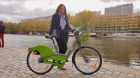 Catherine Baratti-Elbaz, lors de la présentation officielle du nouveau Vélib'.