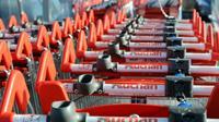 Auchan annonce la mise en vente de 21 sites en France [REMY GABALDA / AFP/Archives]