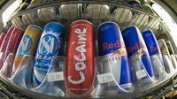 Des cannettes de boissons énergisantes [Earl S.Cryer / AFP/Archives]