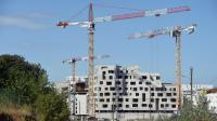 Un chantier de construction à Montpellier le 17 août 2015 [PASCAL GUYOT / AFP/Archives]