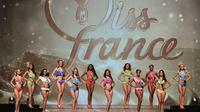 Les candidates au titre de Miss France 2017, le 17 décembre 2016 à Montpellier [Pascal GUYOT / AFP/Archives]