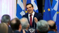 Le Premier ministre grec Alexis Tsipras à Athènes, le 22 juin 2018 [Milos Bicanski / AFP/Archives]