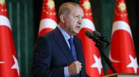 Le président turc Recep Tayyip Erdogan à Ankara, le 13 août 2018  [KAYHAN OZER / TURKISH PRESIDENTIAL PRESS SERVICE/AFP]