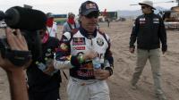 L'Espagnol Carlos Sainz  pendant le Dakar-2013, le 10 janvier 2013 au Chili [- / POOL/AFP/Archives]
