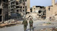 Les forces syriennes à Alep, le 9 novembre 2015 [GEORGE OURFALIAN / AFP]