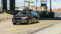 Un véhicule autonome de Uber, le 13 septembre 2016 à Pittsburgh, en Pennsylvanie [Angelo Merendino / AFP/Archives]