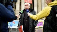 Marcel Campion, ici le 21 décembre 2017 à Paris, a tenu des propos homophobes envers des responsables gays de la mairie de Paris [STEPHANE DE SAKUTIN / AFP/Archives]