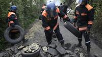 Opération de nettoyage sur la ZAD de Notre-Dame-des-Landes, le 17 mai 2018 [Fred Tanneau / AFP/Archives]