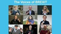 Reportage photographique réalisé du 24 novembre 2017 au 22 janvier 2018 sur des personnes à travers l'Europe dont les carrières sont déjà profondément marquées par le Brexit  [- / AFP]