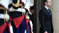 Le président Emmanuel Macron, le 17 mai 2017 à l'Elysée à Paris [STEPHANE DE SAKUTIN / AFP]